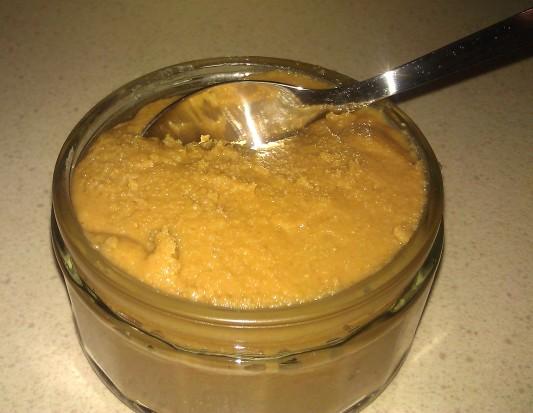 Ramekin of peanut butter